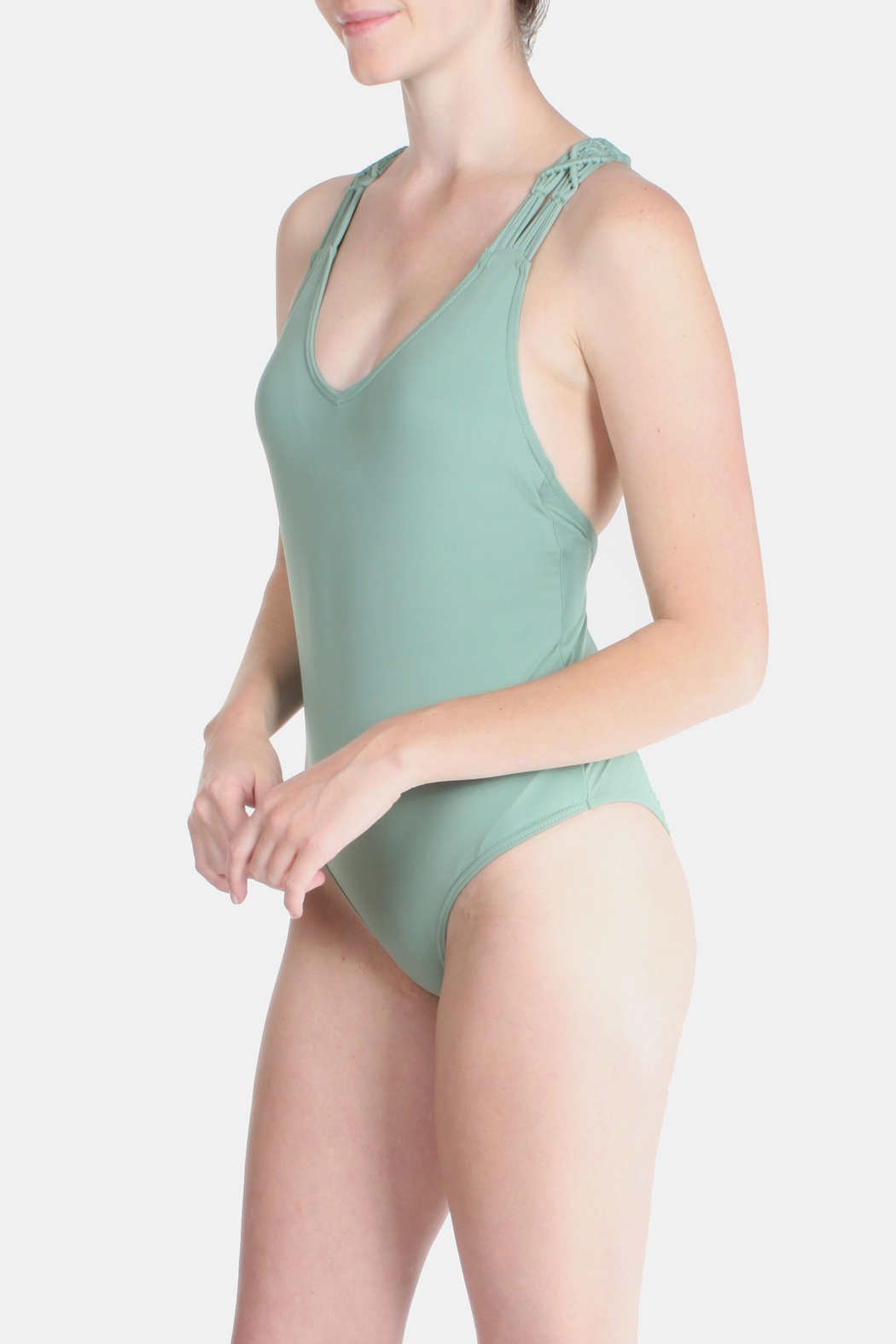 81c85e6b0f Enya Sage Braided Swimsuit from Los Angeles by Goldie's — Shoptiques