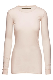 enza costa Bold Crew Neck Top - Front cropped