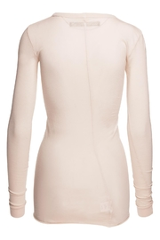 enza costa Bold Crew Neck Top - Front full body