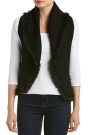 love token Enzo Vest with Fur Trim - Front cropped