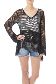 EOTA Crochet Fringe Top - Product Mini Image