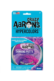Crazy Aaron's Putty World Epic Amethyst Thinking Putty - Product Mini Image