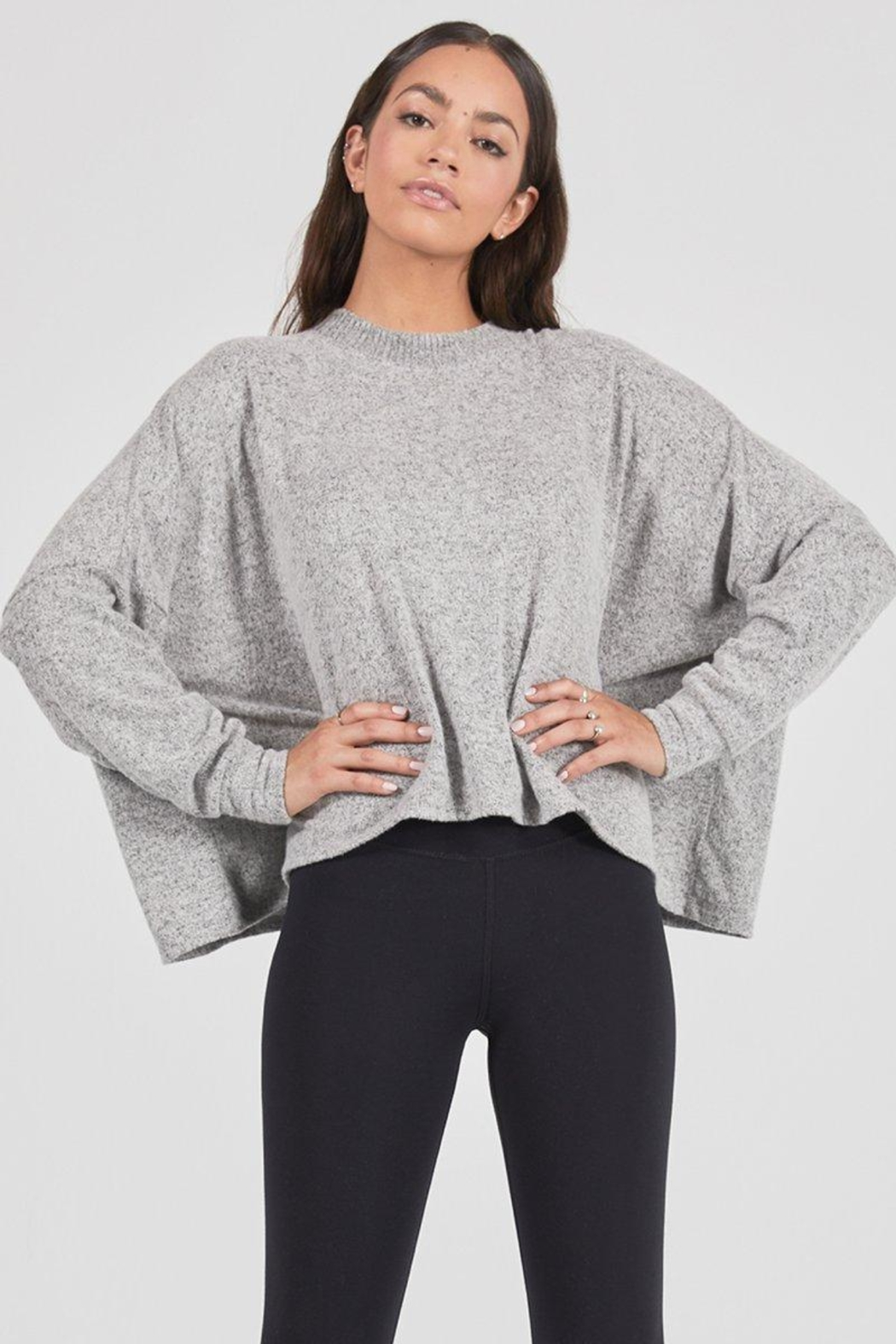 Joah Brown Epic Hacci Long-Sleeve - Front Cropped Image