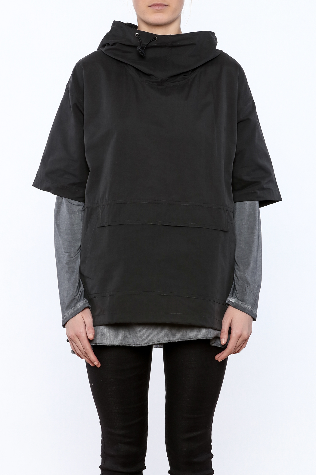 Epidemic Cowl Neck Popover - Side Cropped Image