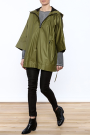 Epidemic Cotton Poncho - Front full body