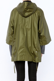 Epidemic Cotton Poncho - Back cropped