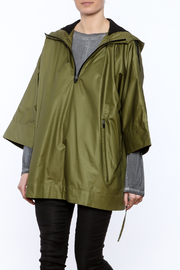 Epidemic Cotton Poncho - Front cropped