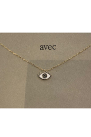 Girly Epoxy Eye Necklace - Product Mini Image