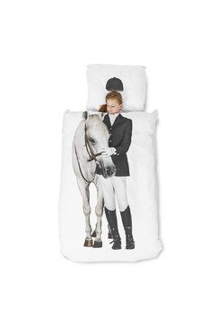 Shoptiques Product: Equestrian Duvet Cover Set