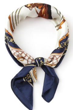 Olive & Pique Equestrian Print Neckerchief - Product List Image