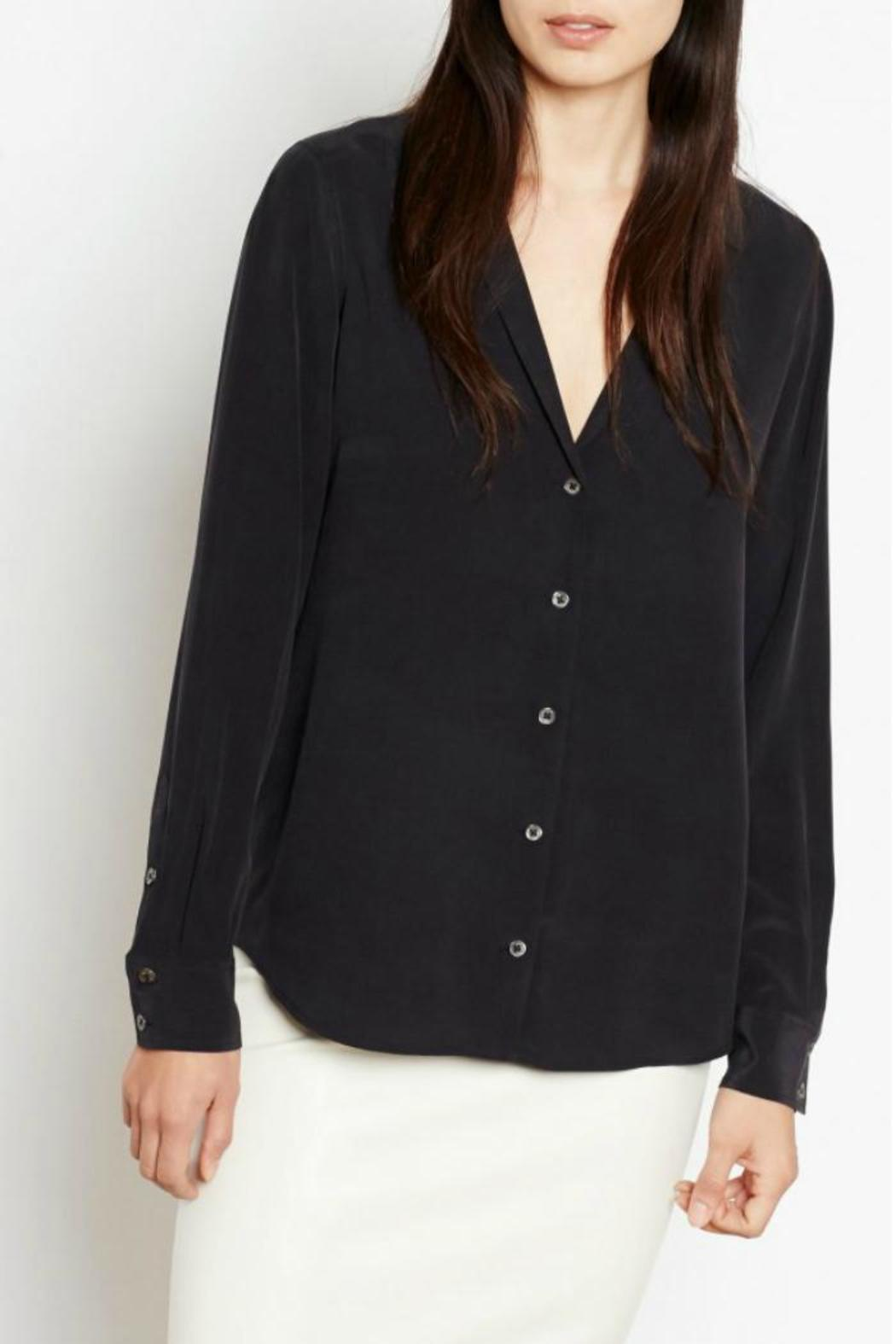 Equipment Adalyn Silk Blouse - Front Cropped Image