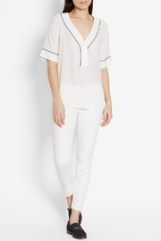 Equipment Atley Silk Shirt - Front cropped