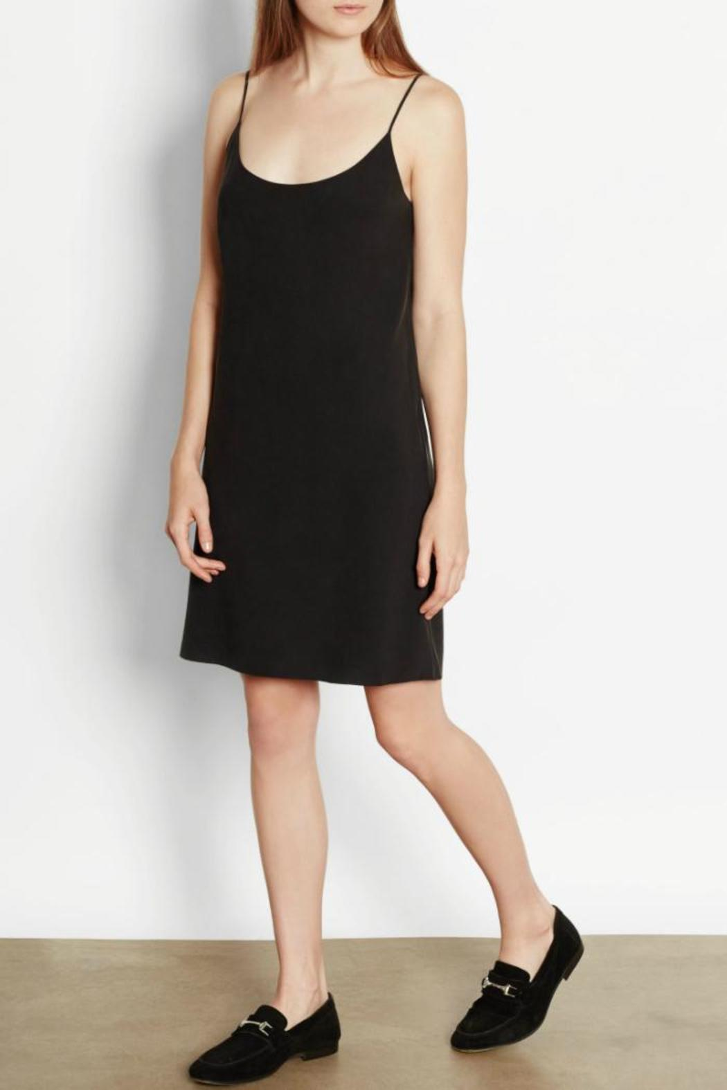Equipment Bias Silk Dress - Side Cropped Image