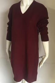 Equipment Cecile V-Neck Sweater-Dress - - Front cropped