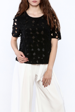 Equipment Black Classy Blouse - Product List Image