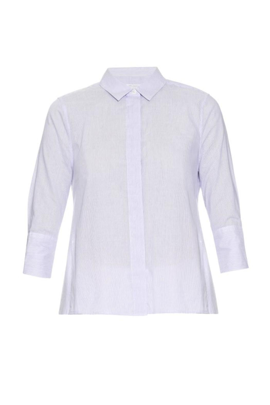 Equipment Esme Cotton Shirt - Front Cropped Image