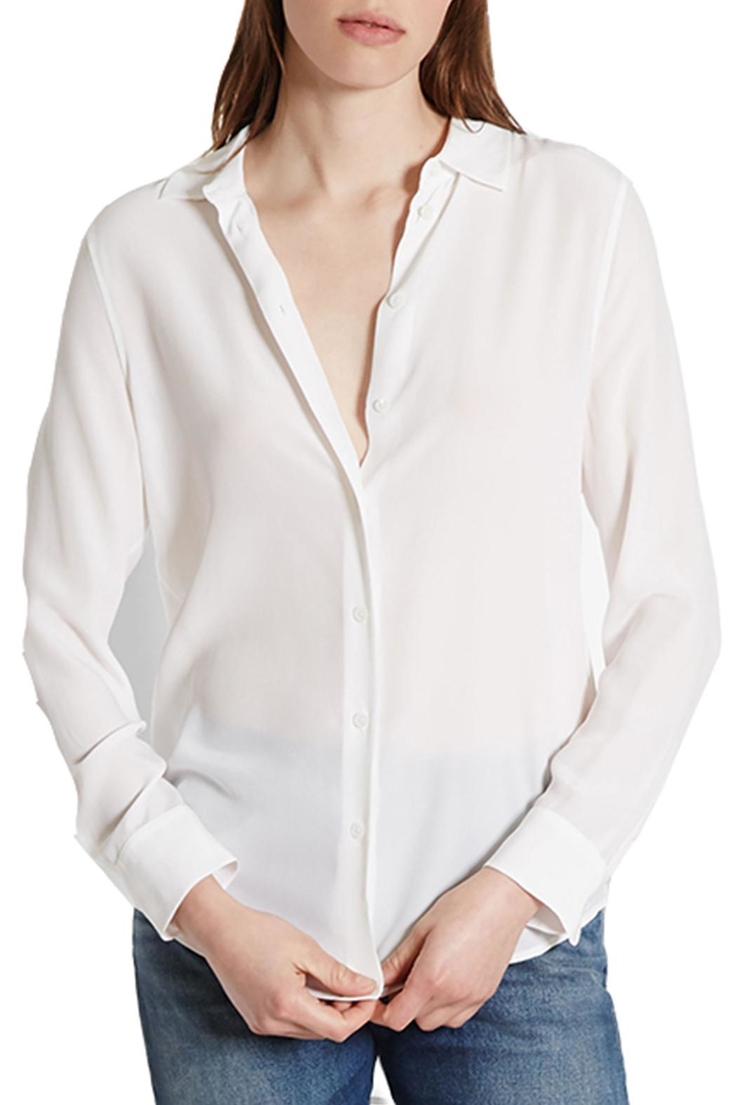 Equipment Essential Silk Blouse - Back Cropped Image