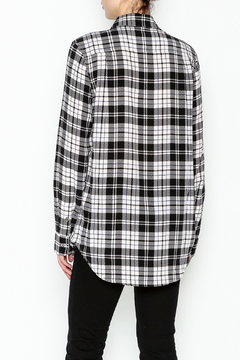 Equipment French Nude Plaid Top - Alternate List Image
