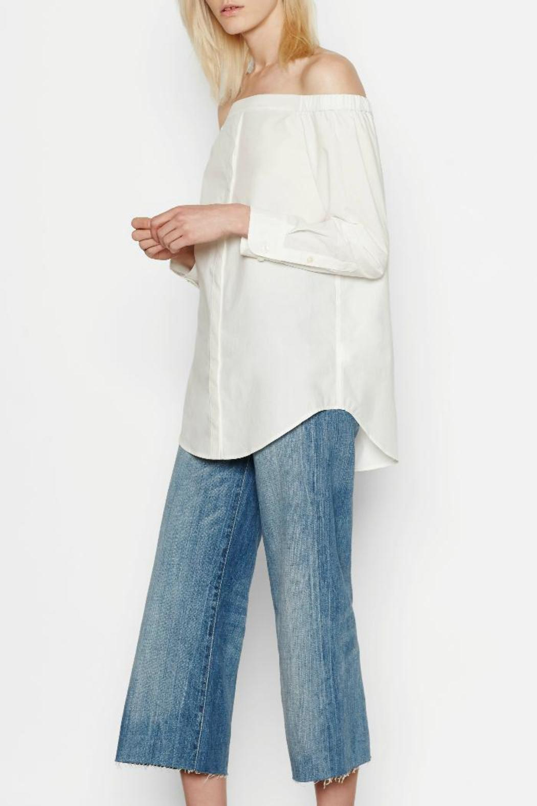 Equipment Gretchen Cotton Shirt - Side Cropped Image