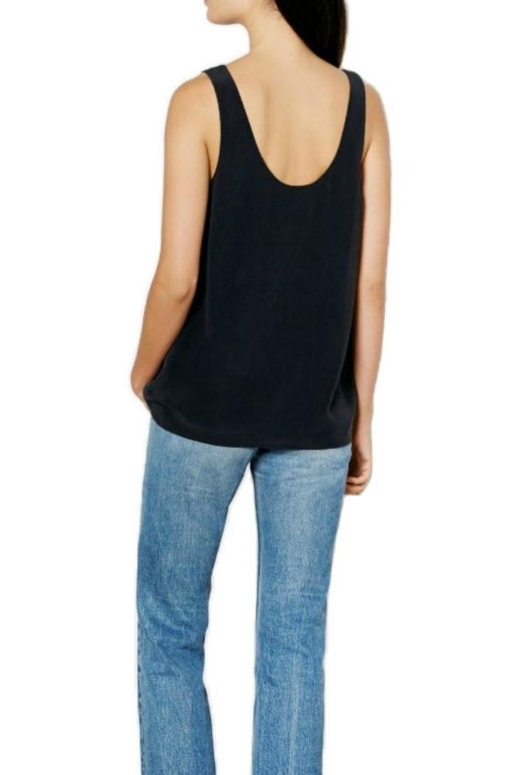 Equipment Kaylen Sleeveless Top - Front Full Image