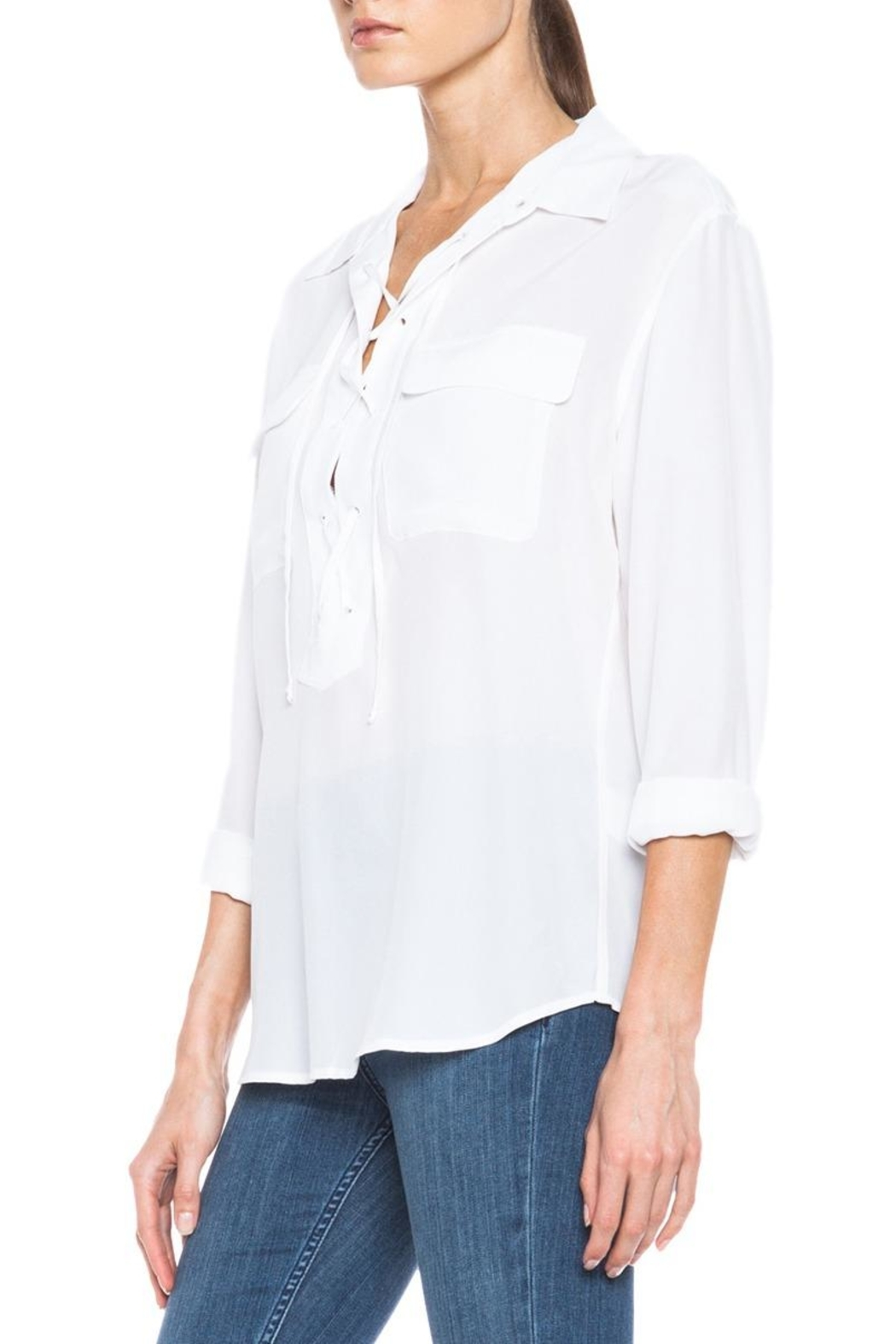 Equipment Knox Blouse - Side Cropped Image