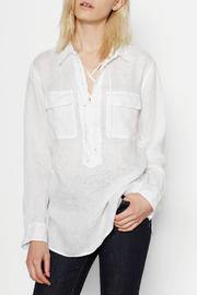 Equipment Knox Linen Shirt - Product Mini Image