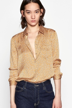 Equipment Leema Shirt Ocre - Product List Image
