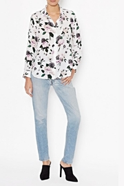 Equipment Leema Silk Shirt - Front cropped