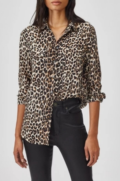 Equipment Leopard Slim Shirt - Product List Image
