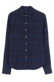 Equipment London Flannel Shirt - Back cropped