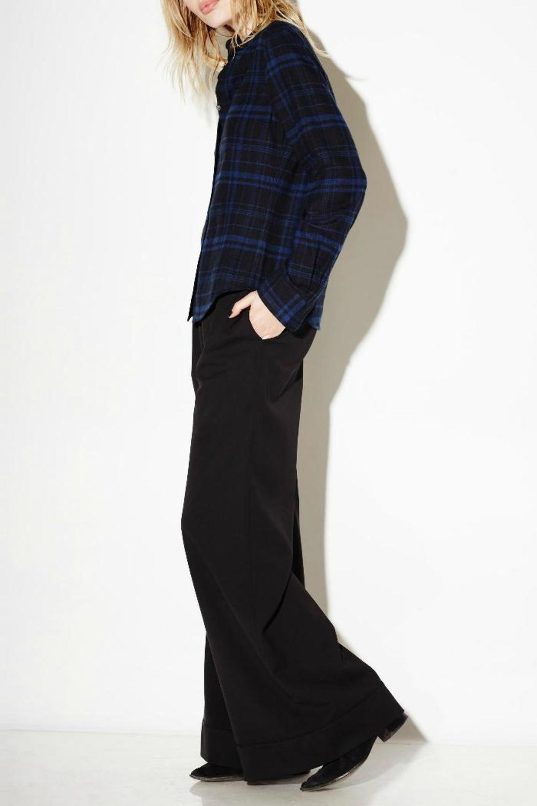 Equipment London Flannel Shirt - Side Cropped Image
