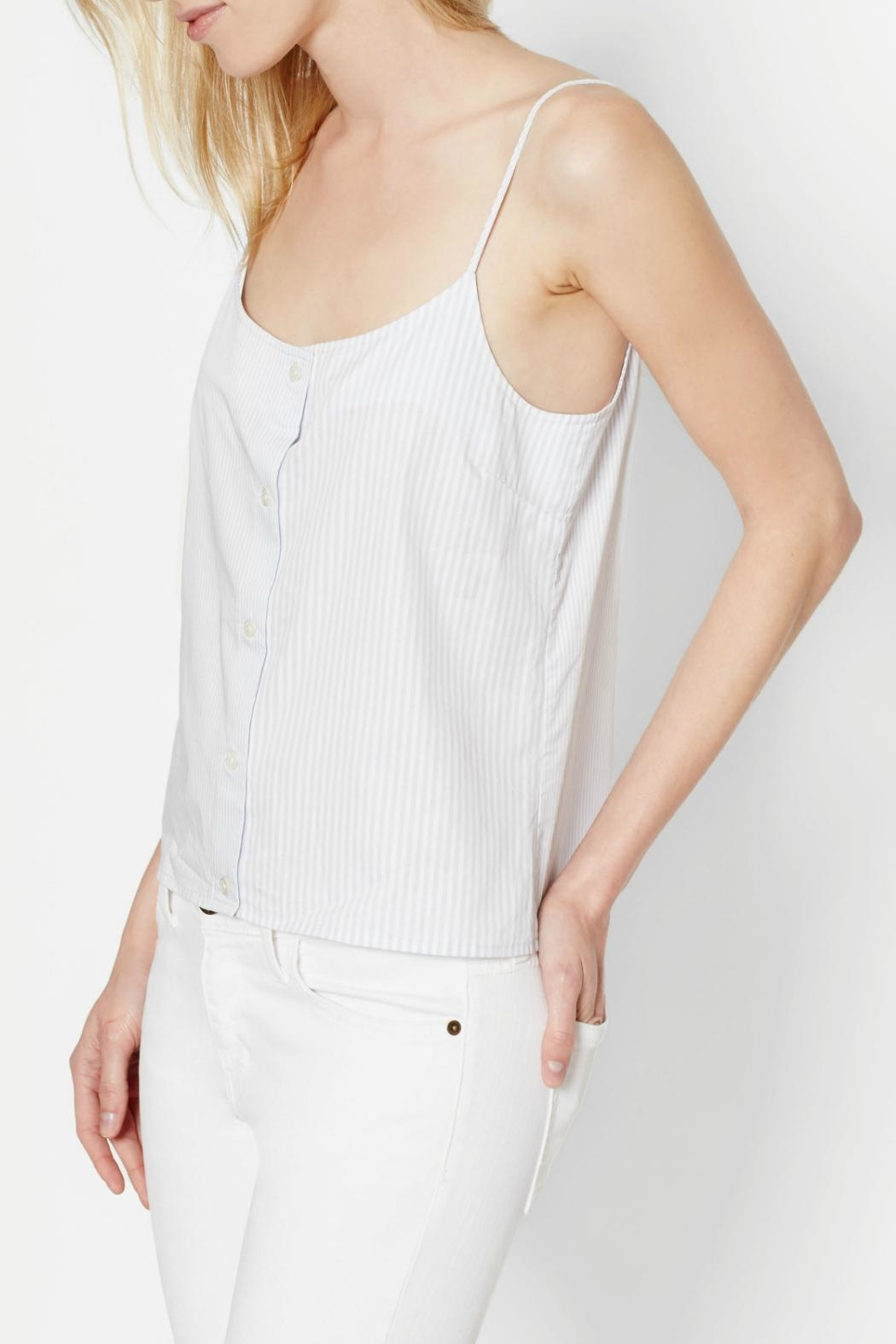 Equipment Perrin Cotton Cami Top - Side Cropped Image