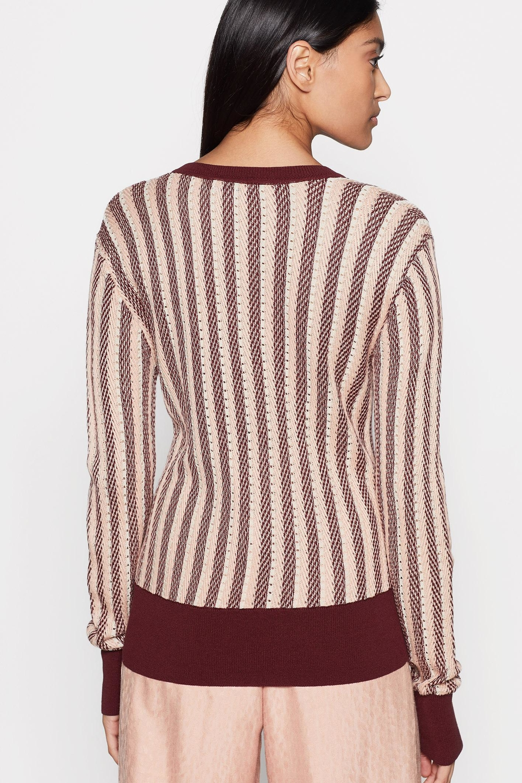 Equipment Pierette Sweater - Side Cropped Image