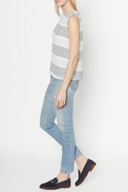 Equipment Reagan Variance Stripe TOp - Side cropped