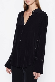 Equipment Rossi Silk Shirt - Front cropped