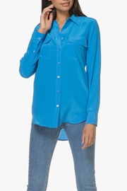 Equipment Signature Klein Blouse - Front cropped
