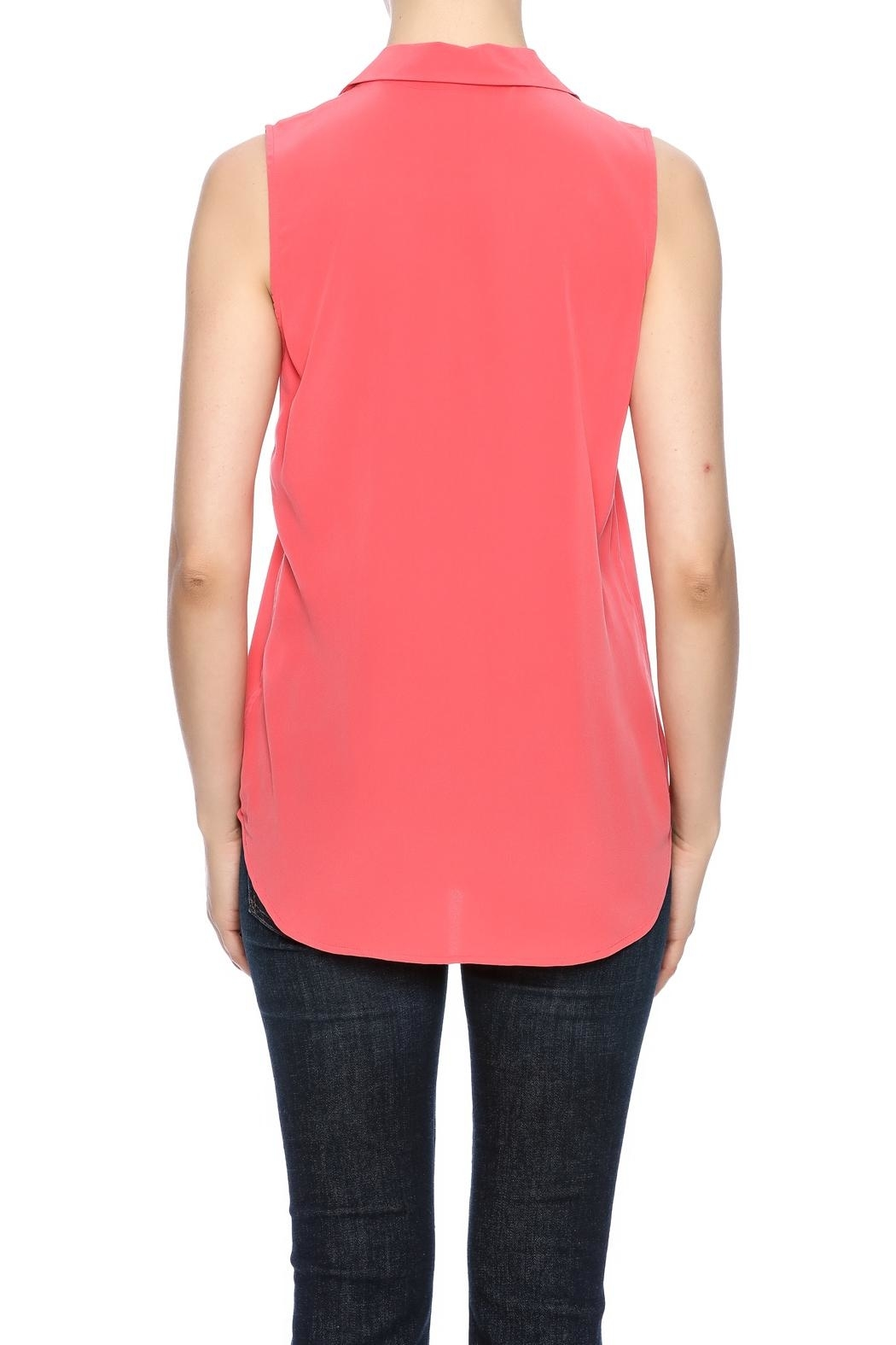 Equipment Sleeveless Adalyn Blouse - - Side Cropped Image