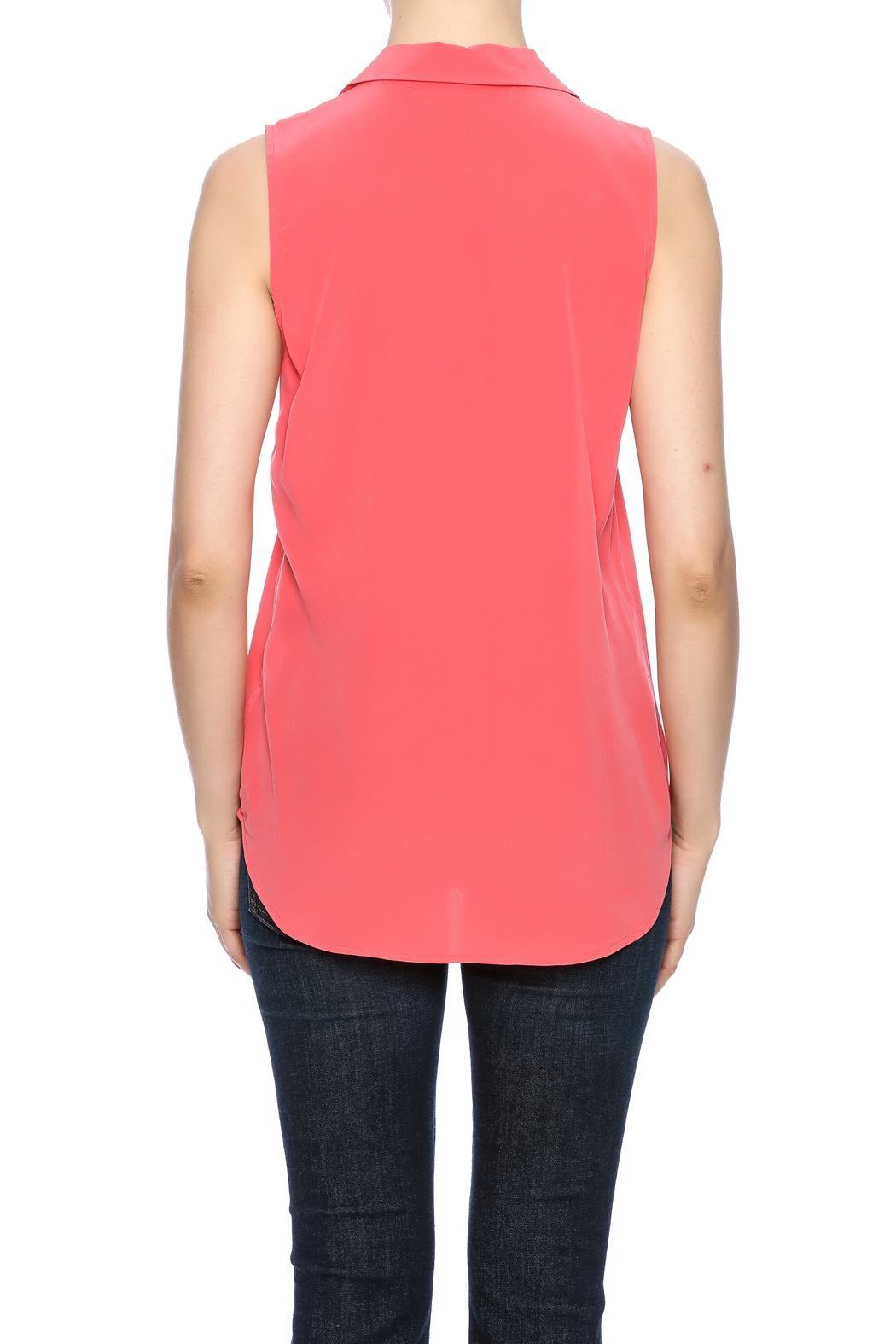 Equipment Sleeveless Adalyn Blouse - Side Cropped Image