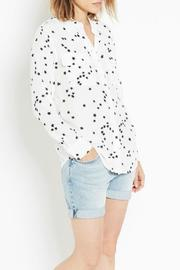 Equipment Slim-Signature Star Top - Front cropped