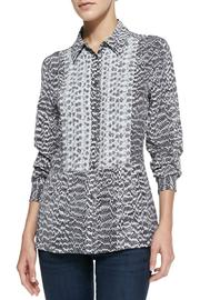 Equipment Trent Snake-Print Blouse - Product Mini Image