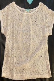 Erguo Lace Cream Top - Product Mini Image