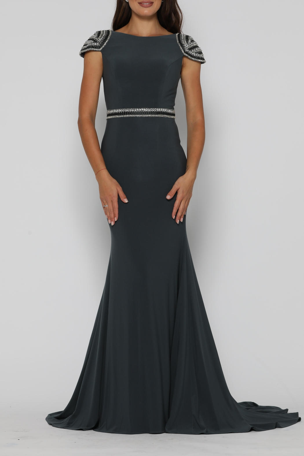 Jadore Eric Dress Gunmetal - Main Image