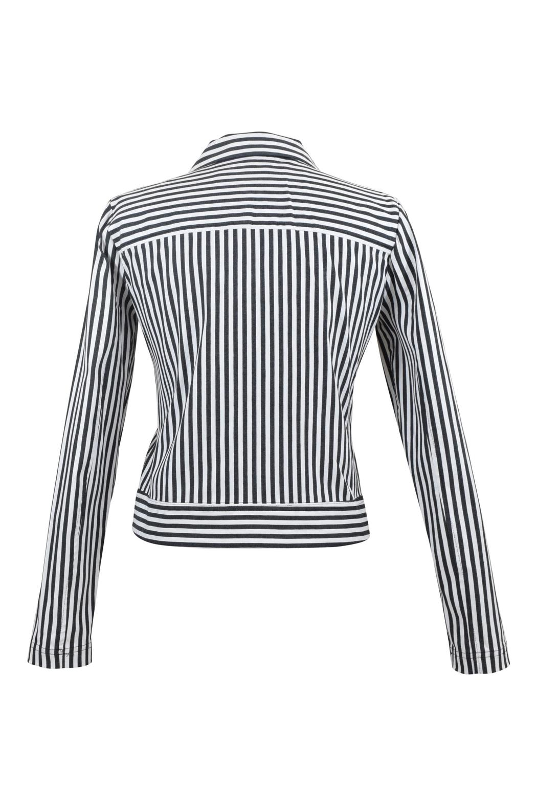 Eric Alexandre Striped Cotton Jacket - Front Full Image