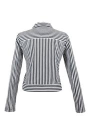 Eric Alexandre Striped Cotton Jacket - Front full body