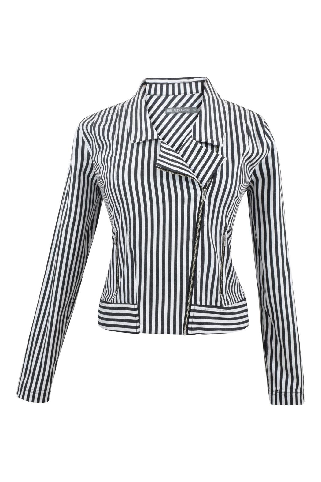 Eric Alexandre Striped Cotton Jacket - Main Image