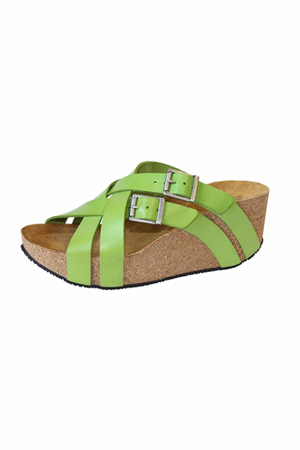 Eric Michael Joan Cross Strap Wedge - Front Cropped Image