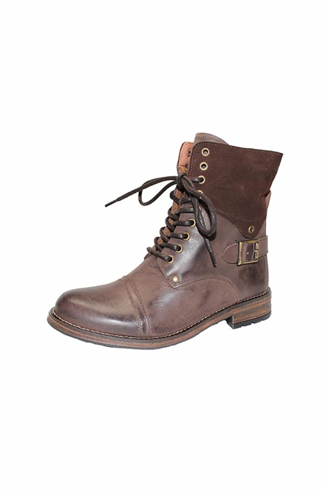 Eric Michael Juniper Combat-Inspired Boot - Main Image