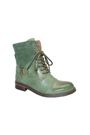 Eric Michael Juniper Combat-Inspired Boot - Front cropped