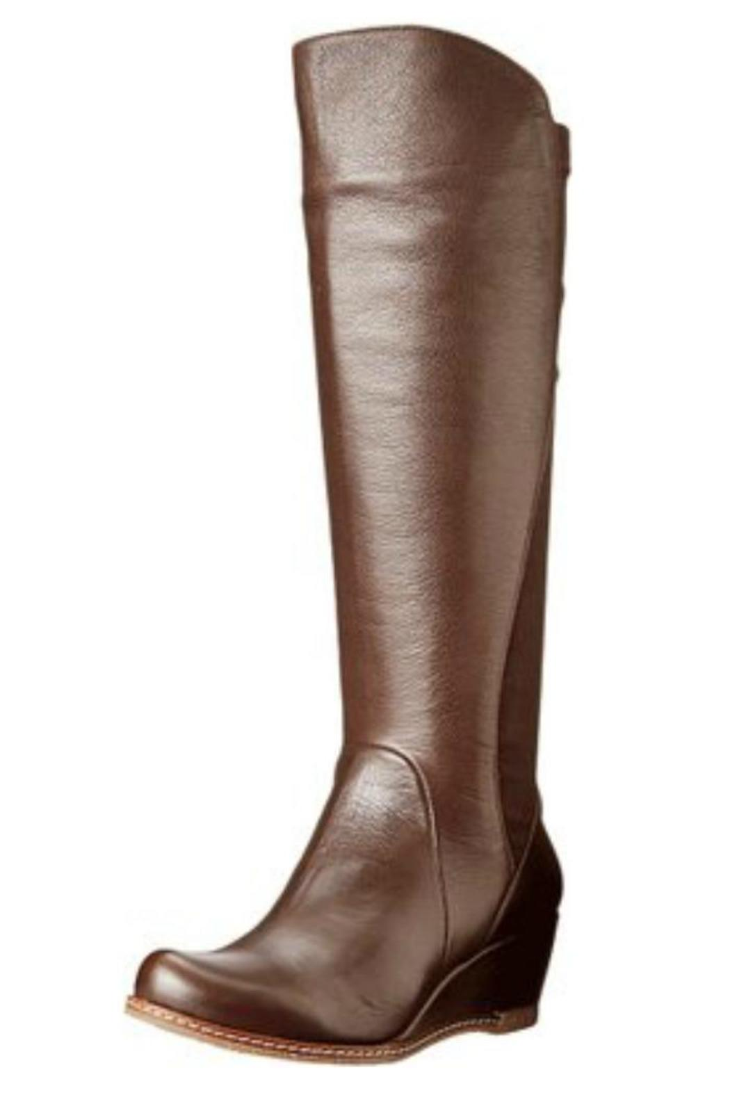 eric michael knee high wedge boot from california by heel