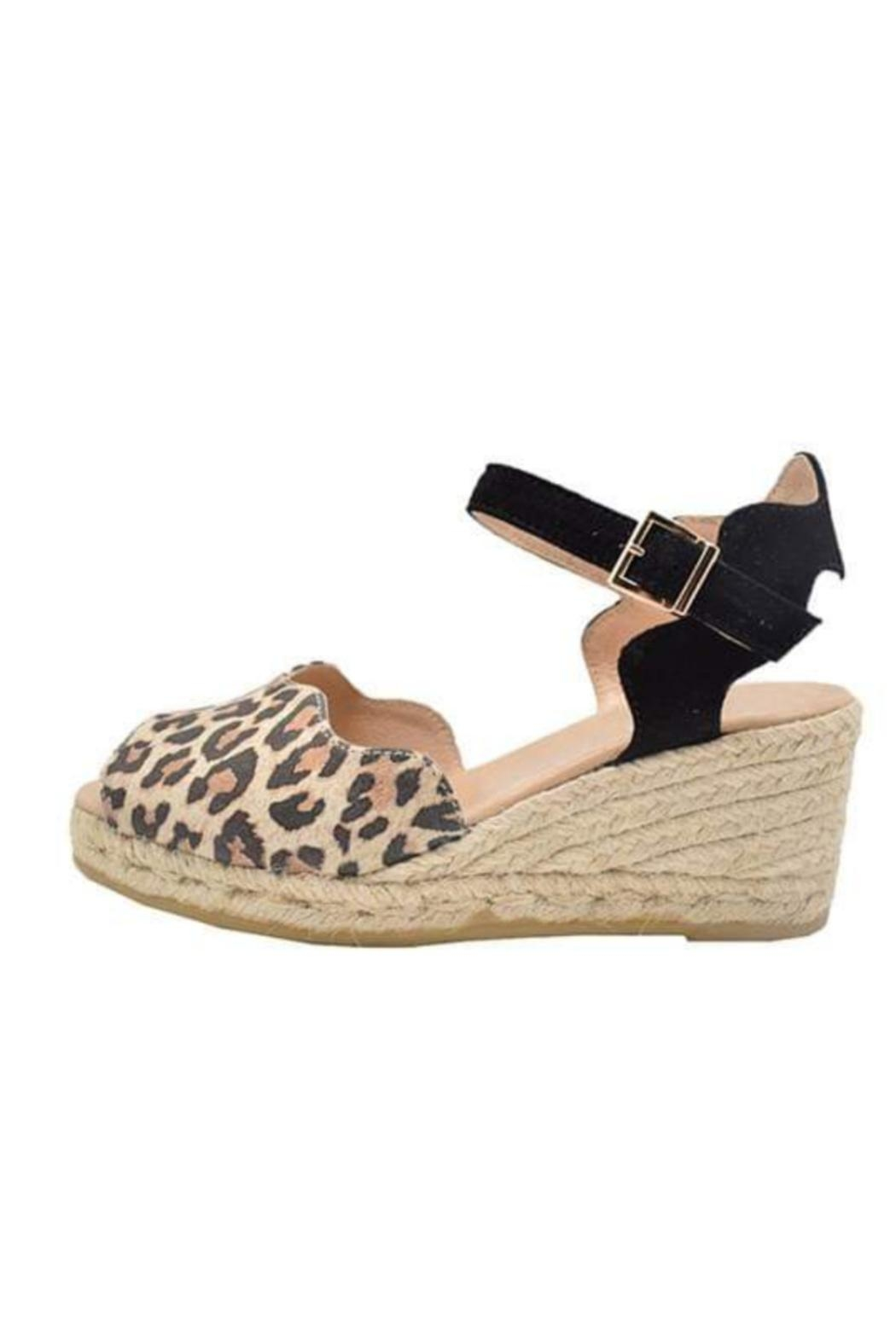 Eric Michael Leopard Espadrille - Front Cropped Image